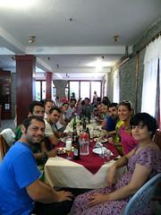Eten met de hele groep