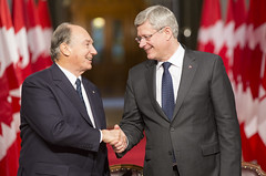 PM and His Highness the Aga Khan sign a Protocol of Understanding