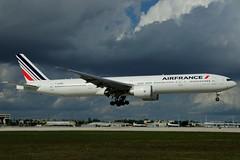 F-GZNK (Air France) (Steelhead 2010) Tags: mia boeing airfrance freg b777 b777300er fgznk