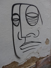 I'ven't Seen That Face Before ... (P1030913) (signaturen) Tags: face graffiti sticker gesicht strasbourg strasburg murales visage wallpaintings