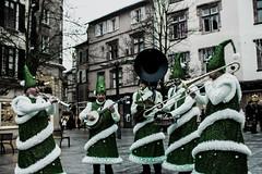 Trees Band (Monsieur Aimable) Tags: christmas street music france band fir noël rue sapin musique fanfare lutin rodez