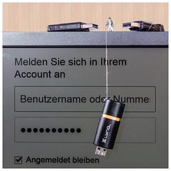 Phishing I (rwfoto_de) Tags: fishing usb stick phishing angeln miniatur pentaxart pentaxk30 pentaxda5018