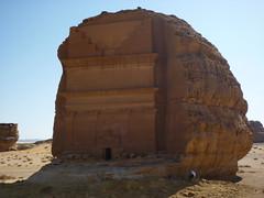 201412127 Mada'in Saleh tomb (taigatrommelchen) Tags: sky museum desert icon sight kingdomofsaudiarabia madainsaleh 20141249