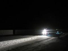 midnight express (YardJock) Tags: railroad cold night outdoors tracks rolling freighttrain benching benchreport