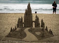 "Sand Castle by Bill Pavlacka aka ""The Sand Castle Man"" (Jun C Photography) Tags: castles beach sandiego olympus coronado sandcastle omd m43 mft em5 sandiegocoronado microfourthirds"