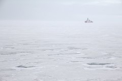 """Icebreaker in the frozen distance • <a style=""""font-size:0.8em;"""" href=""""http://www.flickr.com/photos/27717602@N03/16233055080/"""" target=""""_blank"""">View on Flickr</a>"""