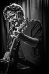 Andy Davies from Stackridge (mdavies149) Tags: blackandwhite bw music bristol pop andydavis michaeldavies rockgroups stackridge