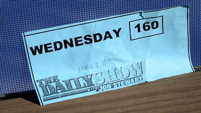 Ticket for The Daily Show with JON STEWART