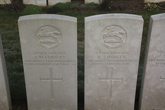 Brothers killed on the same Day WW1. (Seckington Images) Tags: ww1 somme cwgc flickr brothers france