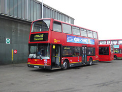 GAL PVL364 - PJ53SOU - NSF - BX BEXLEYHEATH BUS GARAGE - SAT 19TH MAR 2016 (Bexleybus) Tags: bus london ahead volvo kent garage president go route 401 tfl bexleyheath bx goahead plaxton pj53sou pvl364