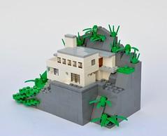 Villa Lau Eide (birgburg) Tags: house scale architecture lego modernism micro villa leif functionalism grung microscale villalaueide