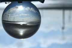 good weather (stevenking9987) Tags: blue light sky sun macro beach weather ball photography interesting nikon crystal reflect nikkor     d5300