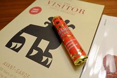 Peppermint turndown amenity (A. Wee) Tags: hotel switzerland zurich sheraton amenity peppermint   lozenge turndown  neuesschloss