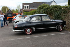 1957 Panhard Z 12 (Davydutchy) Tags: auto classic car spring automobile rally voiture vehicle oldtimer tatra pkw klassieker maartensdijk mauritshoeve automobiel voorjaarsrit frhlingstreffen tatraregisternederland