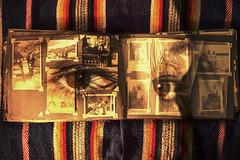 La mirada es una memoria (Pan ) Tags: analog vintage photo mujer eyes women remember album recuerdo ojos memory browneyes past mirada gaze memoria analogica pasado
