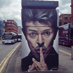 David Bowie (jonathan_horne) Tags: david manchester graffiti bowie quarter northern