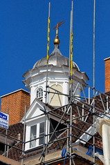 New Cupola On The Cupola House Refurbishment (Martin Pettitt) Tags: suffolk spring outdoor may cupola dslr refurbishment burystedmunds cupolahouse nikond90 project366 afsdxvrzoomnikkor18105mmf3556ged