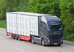Volvo FH4 141-L-2436 - O'Brien Bros. (gylesnikki) Tags: ireland irish transport livestock m20 skitterbox