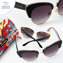 Make a bold impression wearing these designer Sunglasses from Dolce&Gabanna.  نظارات دولشي اند جابانا الشمسية تعطي انطباعا بالتألق والحيويه.  #Aljaber_optical #Dolcegabbana #Sunglasses #UAE #Dubai #Sharjah #Abudhabi #Alain #RAK #health #Beauty #Dubaimall (Al Jaber Optical) Tags: beauty sunglasses fashion dubai uae health abudhabi alain rak sharjah dolcegabbana دبي العين الامارات الشارقة نظارات dubaimall أبوظبي موضة صحة دبيمول نظاراتشمسية الجابرللنظارات aljaberoptical دولشيجابانا