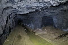 Gonzen Mine - Wolfsloch Tunnel (Kecko) Tags: underground geotagged army schweiz switzerland europe mine branch suisse swiss military kecko ostschweiz tunnel sg svizzera armee militr stollen 2016 militaer sargans bergwerk vild gonzen abzweigung trbbach swissphoto wartau wolfsloch geo:lat=47076070 geo:lon=9456040 gonzenbergwerk