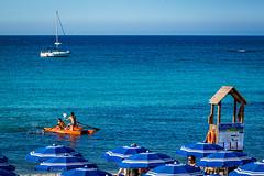 Seascape - Italy (fabioseda) Tags: ocean sea people seascape sol praia beach mar italia waves natureza paisagem puglia sul sanfoca 500px