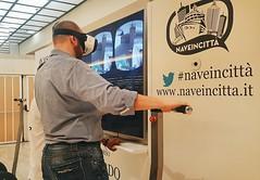 Virtual Reality with #MSCcrociere. Non ho vinto nulla (come sempre sono inetto) ma il divertimento  tanto. #naveincitta (Viaggio Vero) Tags: travel photo flickr viaggio viaggiovero instagram