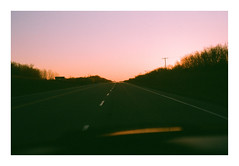 Straight Ahead. (Drew Amyot) Tags: nikonf4 drewamyot 2016 landscape film analogphotography goldenhour edmontonphotography canadianphotography