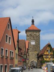 Siebersturm from Spitalgasse, Rothenburg ob der Tauber, Germany (Paul McClure DC) Tags: architecture germany bayern deutschland bavaria franconia historic franken rothenburgobdertauber may2015