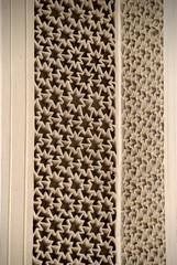 Star-shaped carved Frieze (VinayakH) Tags: india graves hyderabad tombs carvings necropolis nizam nobility paigah paigahtombs telangana maqhbarashamsalumara