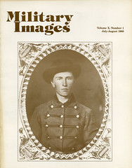 Military Images magazine cover, July/August 1988 (militaryimages) Tags: history infantry mi america magazine soldier photography rebel us marine uniform photographer unitedstates military union navy archive confederate worldwari civilwar american weapon tintype ambrotype artillery stereoview cartedevisite sailor ruby veteran roach daguerreotype yankee cavalry neville spanishamericanwar albumen mexicanwar coddington backissue citizensoldier indianwar heavyartillery matcher findingaid militaryimages hardplate