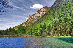 Inzell 2016 (Gnter Hentschel) Tags: deutschland germany germania inzell alemania allemagne europa bayern berge bgl chiemgau nikon nikond40 nikond3200 d40 d3200 wasser rauschberg falkenstein falkensteinsee lanz urlaub ferien pfingstroas
