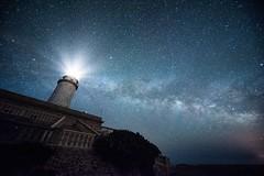 The Milky Way over Cap Formentor (Benjamin_R) Tags: lighthouse night spain nikon nacht sigma d750 mallorca 1224mm spanien leuchtturm 1224 milkyway formentor capformentor milchstrase