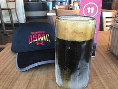 Deep Ellum Double Brown Stout at Smashburger (jimward85) Tags: usmc unitedstatesmarinecorps smashburger deepellumbrewingcompany beer semperfi