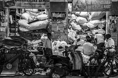 Puducherry (chamorojas) Tags: 60d chamorojas albertorojas bw india pondicherry puducherry storefront
