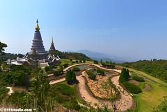 Twin Pagodas of Doi Inthanon