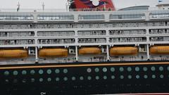 See me (quintinsmith_ip) Tags: sea people river fun ship down tourist disney passenger passing shipping southshields waltdisney disneymagic rivertyne