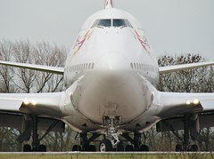 G-VGAL (AnDrEwMHoLdEn) Tags: manchester airport virgin 747 virginatlantic manchesterairport egcc 05l