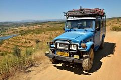Exploring the hinterland of the Alentejo [Portugal] (babakotoeu) Tags: car jeep offroad 4x4 toyota land series 40 landcruiser cruiser troopy bj40 40series bj45