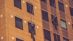 I Don't Do Windows (SPP- Photography) Tags: city windows skyscraper buildings downtown bricks minneapolis twincities windowwashers tallbuildings