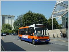 Centrebus 231 (KX55 PFO) (Jason 87030) Tags: blue orange white june northampton flickr sony tag northamptonshire solo alpha northgate 231 2016 ilce optare a6000 centrebus kx55pfo