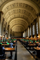 The Reading Room (WilliamND4) Tags: boston nikon library room inside bostonpubliclibrary nikon1v3 nikonv3