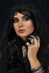 Dark Beauty (Michael Struts) Tags: dark black portrait flickrsbest