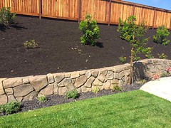RETAINING WALLS IN COLORADO (lawnpros) Tags: landscape retainingwall lawnpros colorado
