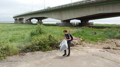 20160623_131729 (Keep Wales Tidy) Tags: bridge summer up coast marine severn clean litter learning monmouth welsh care baccalaureate caldicot rogiet welshcoastalpathcleanup