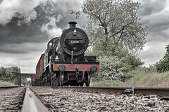26 May 2016 S & D 7F 53808 at the GCR. (Dangerous44) Tags: great central engine railway goods steam 7f sdjr 53808