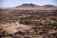 Dirt road leading into Oldupai Gorge (3scapePhotos) Tags: africa olduvai tanzania continent dirt gorge leading oldupai prehistoric road safari serengeti