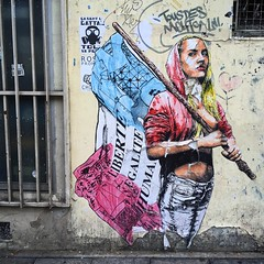 #liberte #egalite #humanite #newstyle guidant le #peuple  #streetart #graffiti #graff #wall #spray #bombing #paris (pourphilippemartin) Tags: liberte egalite humanite newstyle peuple streetart graffiti graff wall spray bombing paris