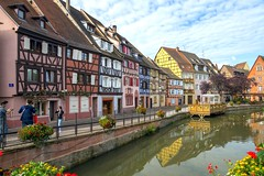 Colmar - France (isobrown) Tags: france cute beautiful architecture canal colmar alsace rue venise petite pitoresque