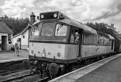Daily Star (davep90) Tags: station train track fuji diesel yorkshire rail railway fujifilm moors 1024 grosmont davep90