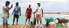 Cabo_Verde_01 (Benjamin Dewalque) Tags: film pier fisherman fuji xpan caboverde selfdeveloped capvert pro400h c41digibase epsonv800